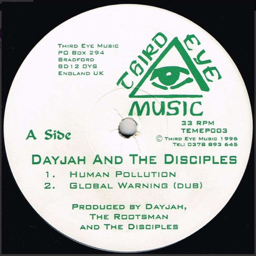 Dayjah and the Disciples - Human Pollution - 41 Rooms - show 88