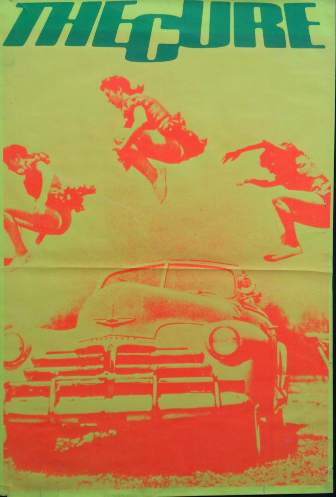 The Cure - Dave's 51cm x 76cm 'Cars' poster - 41 Rooms - show 87