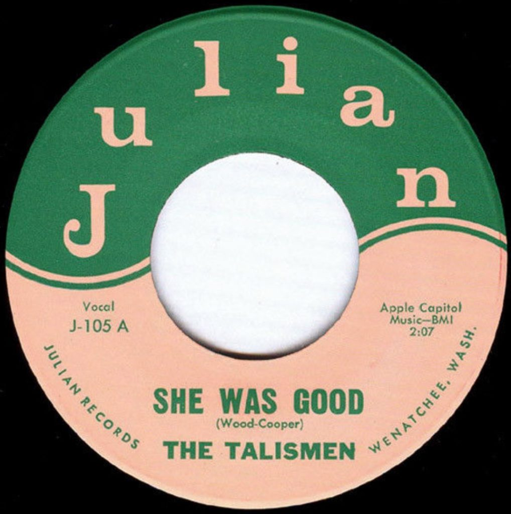 The Talismen - She Was Good - 41 Rooms - show 88