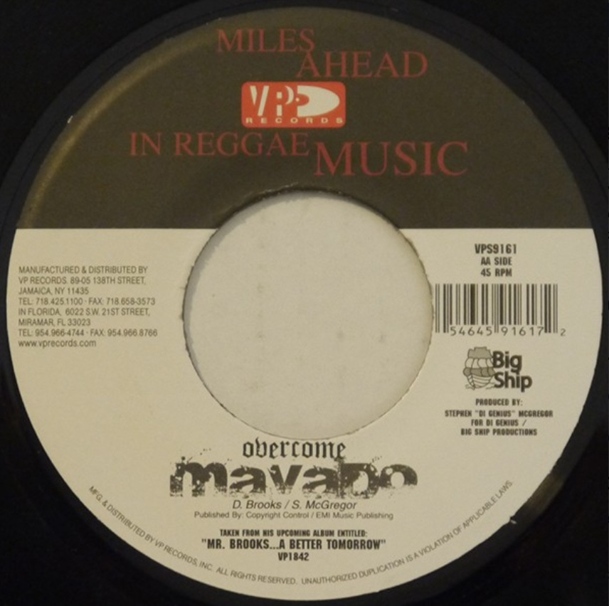 Mavado - Overcome - 41 Rooms - show 90