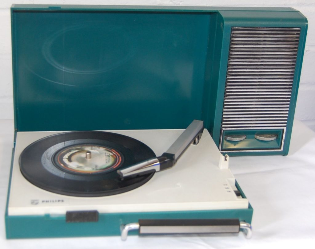 Show 89 turntable - 41 Rooms - 1960s Philips