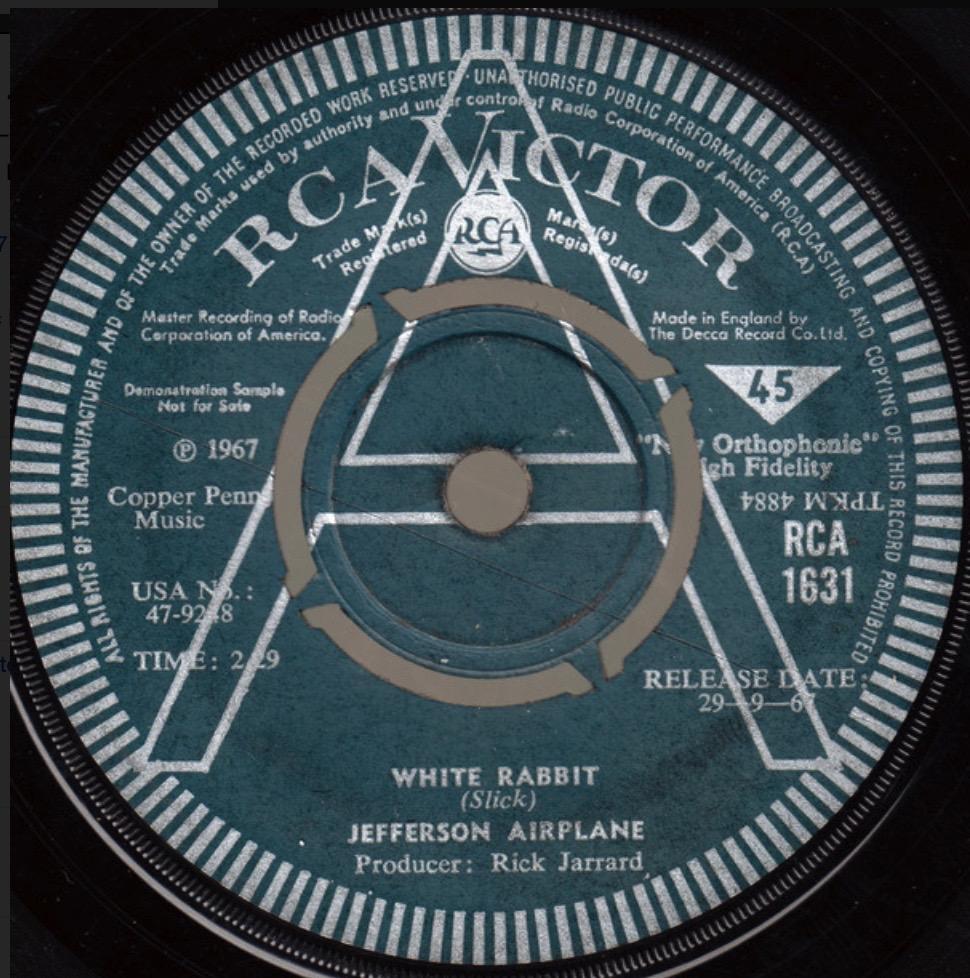 Jefferson Airplane - White Rabbit - 41 Rooms - show 92