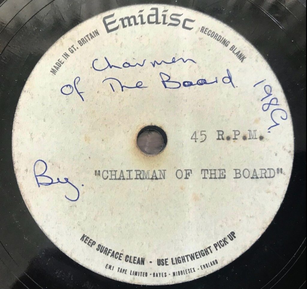 Chairman Of The Board acetate