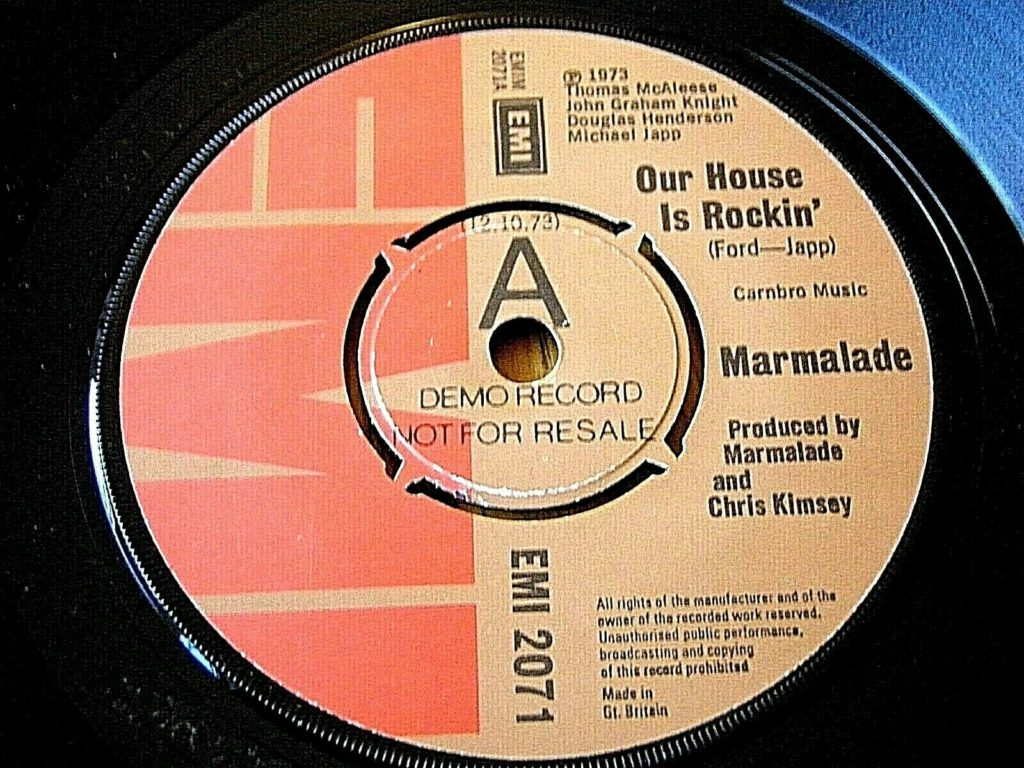 Marmalade - Our House Is Rockin' - 41 Rooms - show 93
