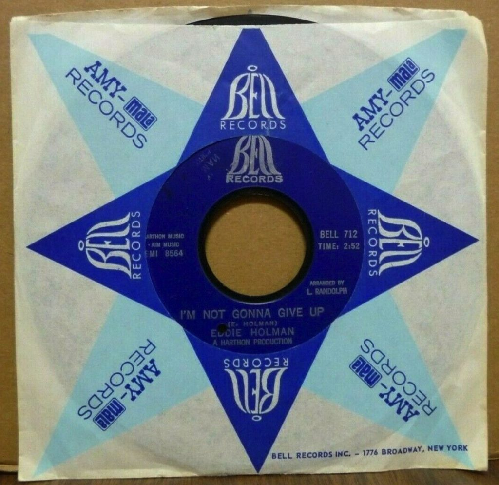 Eddie Holman - I'm Not Gonna Give Up - 41 Rooms - show 94