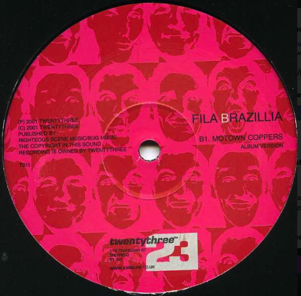 Fila Brazillia - Motown Coppers - 41 Rooms - show 94