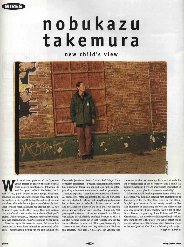 Nobukazu Takemura (Jazid #3 article) 5-6.96 - 41 Rooms - show 95