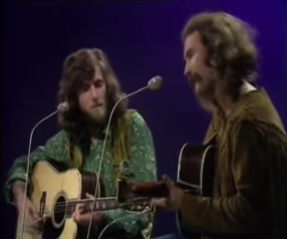 David Crosby and Graham Nash - Traction In The Rain (Live) - 41 Rooms - show 95
